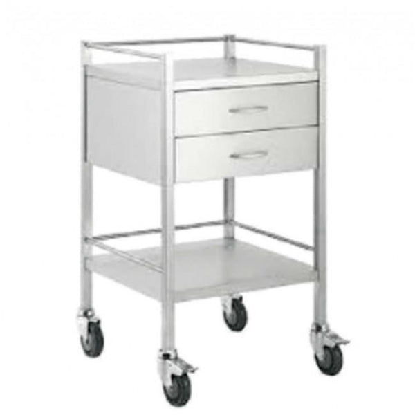 Medical Trolley Small with 2 Drawers 3004