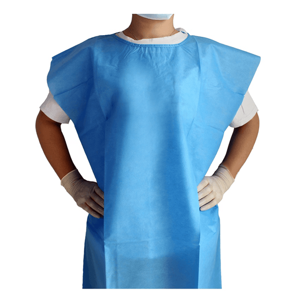 Patient Gowns, single use, pack of 50 2466-LG