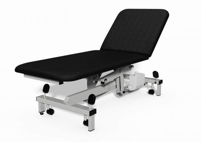 Plinth Medical 2 Section Electric Couch 0917-BK