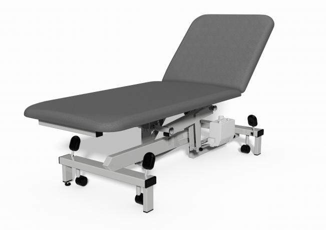 Plinth Medical 2 Section Electric Couch 0917-GR