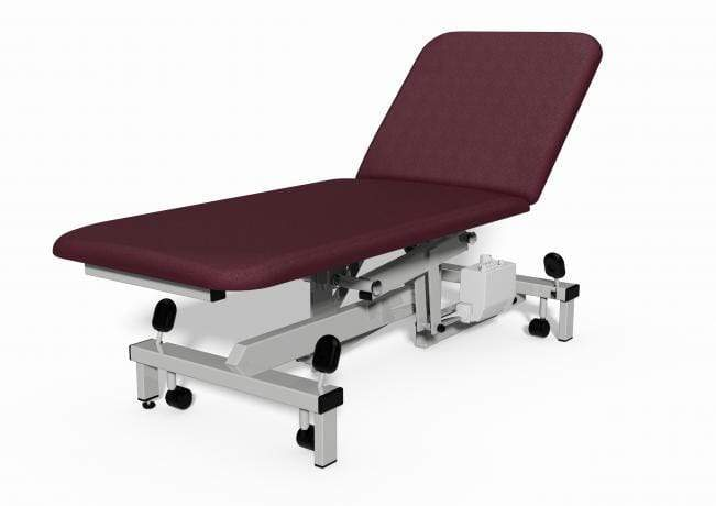 Plinth Medical 2 Section Electric Couch 0917-MW