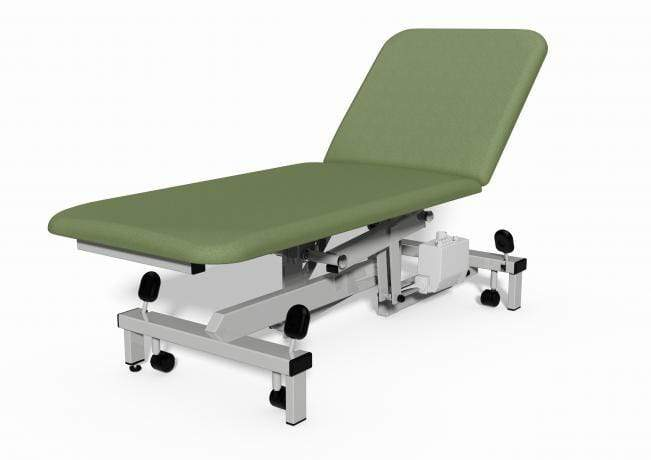Plinth Medical 2 Section Electric Couch 0917-WA