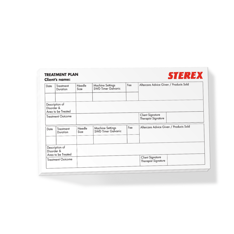 Sterex Electrolysis Treatment Plan Pk/25 1708