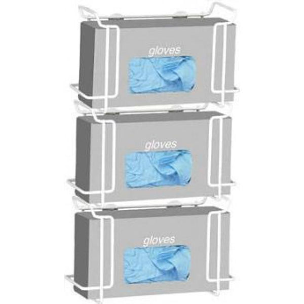 Triple Glove Box Holder 9617