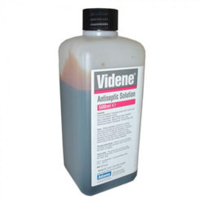 Videne Antiseptic Solution 500ml 9798