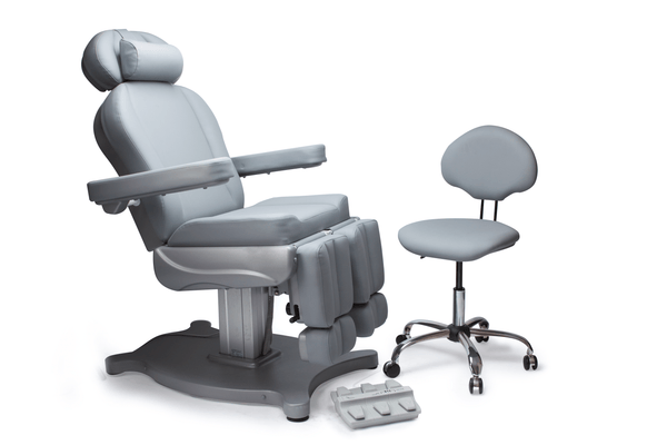 BedMed Mima Electric Podiatry Chair and Operator Chair