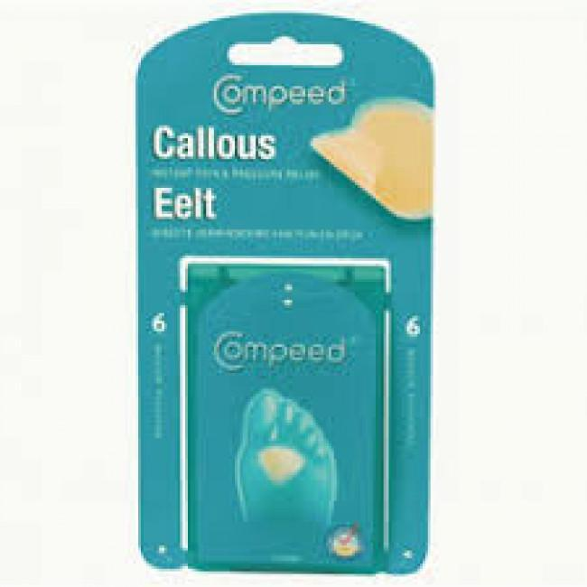 Compeed Callous Med, pk6 3626