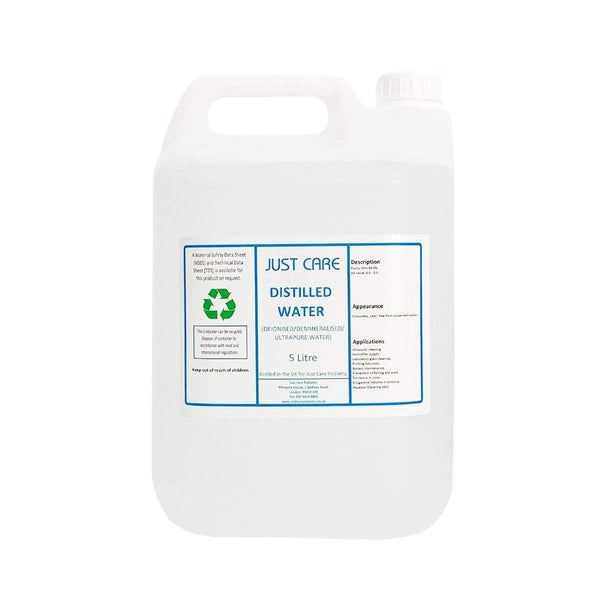 Just Care Distilled Water 5 Litre 5471