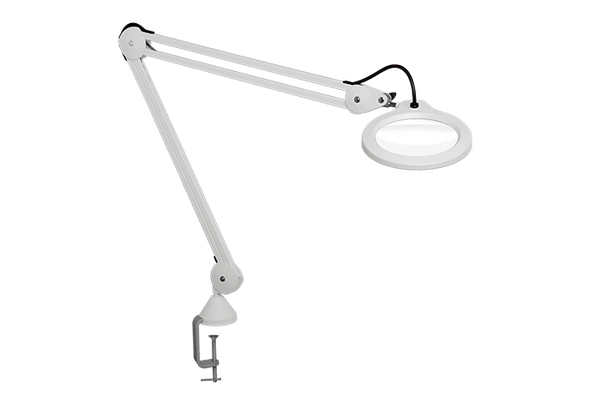 Luxo LFM LED G2 Magnifier With Table Clamp 2337