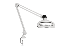 Luxo Wave LED Magnifier With Table Clamp 2335