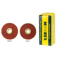 Moore's Adalox Clip-on Discs 22mm Pk/50