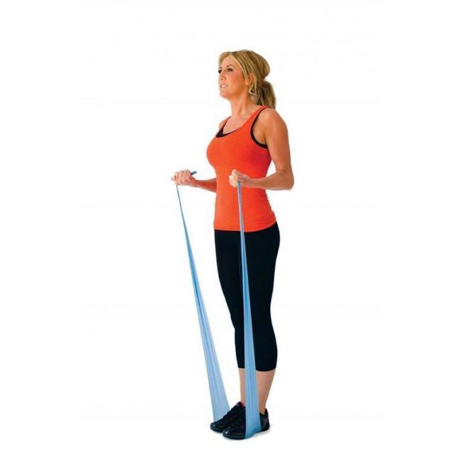 Physioworx Latex Free Resistance Band, 25m roll 1723-GN
