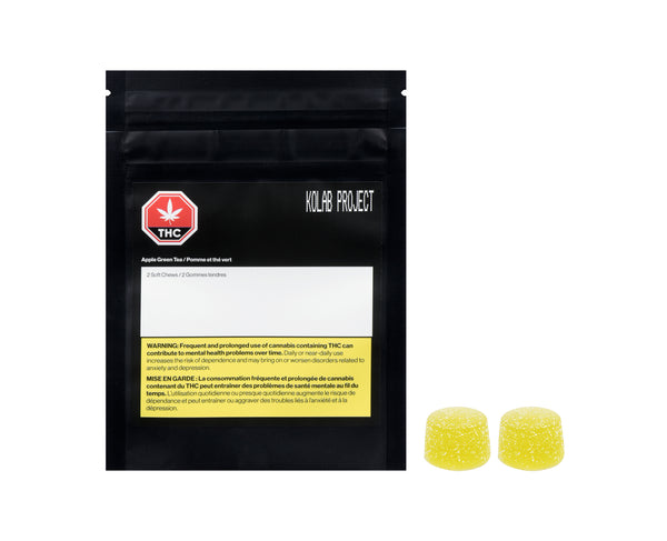Kolab Project Apple Green Tea Soft Chews