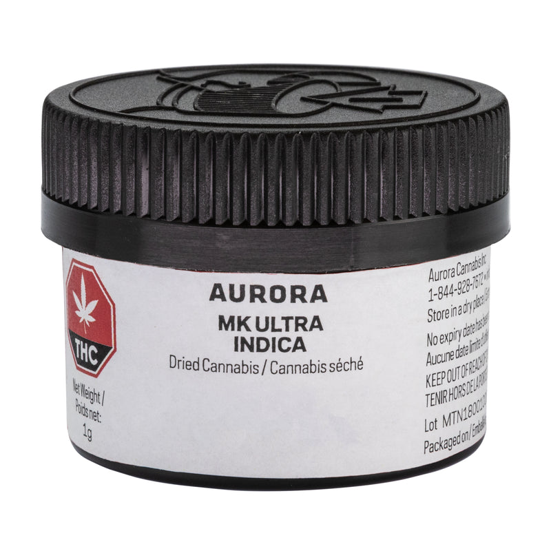 Aurora MK Ultra Indica Dried Flower