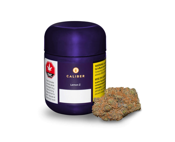 Caliber Lemon Z Sativa Dried Flower