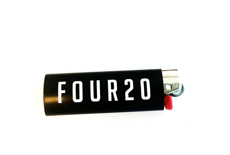 Lighter Bic FOUR20 Logo