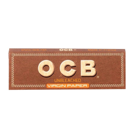 OCB Virgin Unbleached Papers 1.25