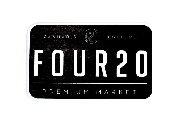 Tin Container - Four20 Logo