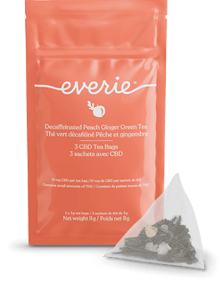Everie CBD Peach Ginger Tea Bags