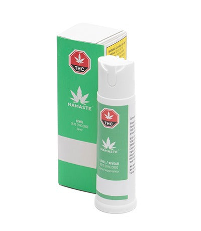 Namaste Level THC / CBD Oral Spray