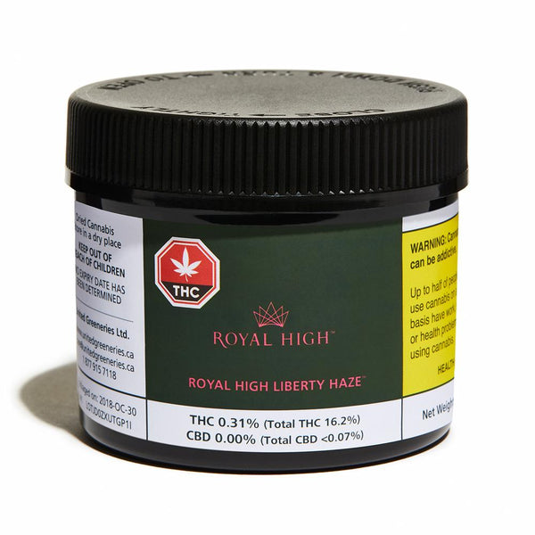 Royal Haze Liberty Haze Sativa Dried Flower