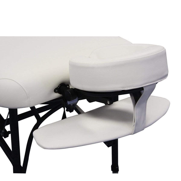 Just Care Beauty Furniture White Affinity Face Cradle Armrest