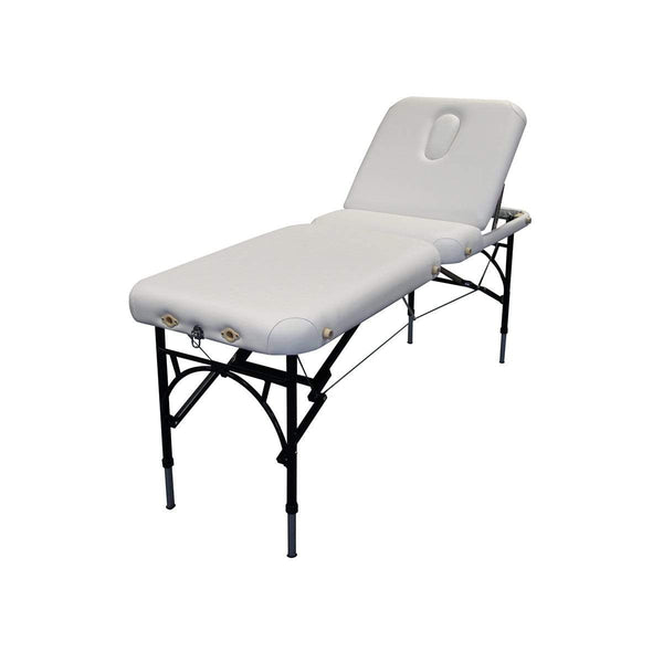 Just Care Beauty Furniture White Affinity Portable Couch