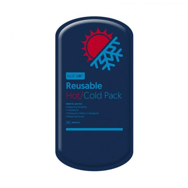 Just Care Beauty Products Blue Dot  Re-Usable Hot / Cold Pack