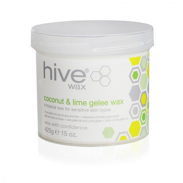 Just Care Beauty Products Hive Coconut  Lime Gelee Wax 425g