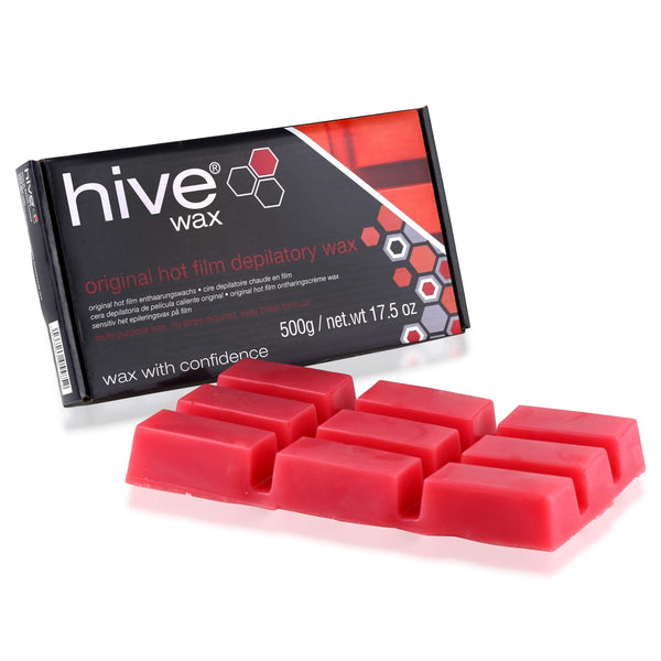 Just Care Beauty Products Hive Depilatory Hot Film Wax Block 500g