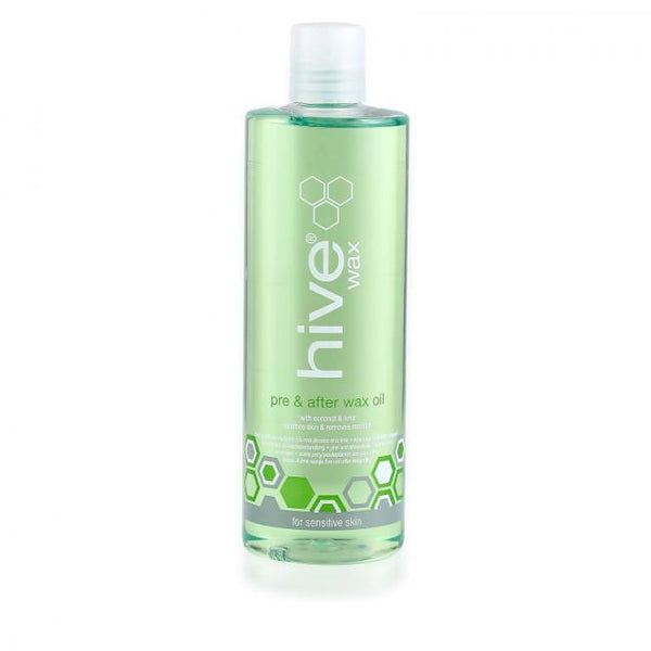 Just Care Beauty Products Hive Pre  After Wax Oil With Coconut  Lime 400ml