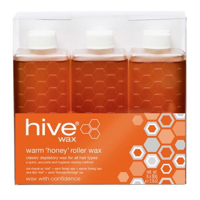 Just Care Beauty Products Hive Warm Wax Roller Depilatory Refill 36 Pack