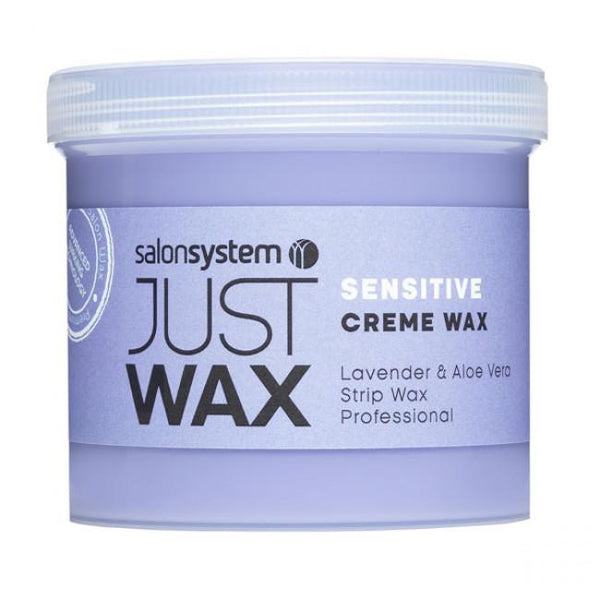 Just Care Beauty Products Just Wax Sensitive Creme Wax 450g