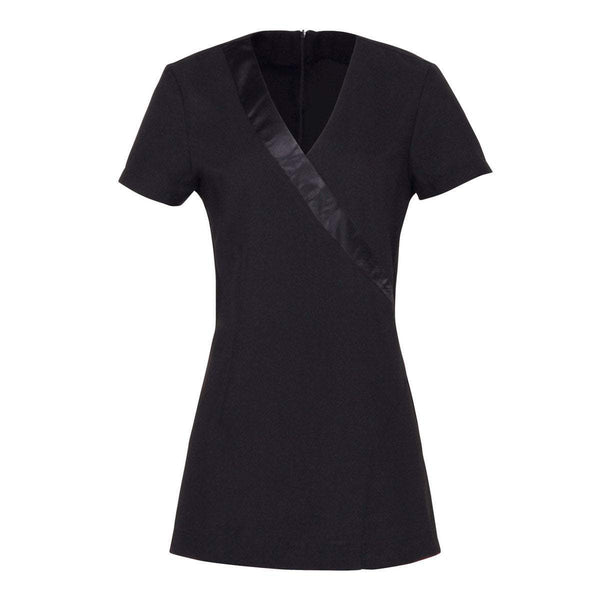 Just Care Beauty Products 8 / Black Justina Satin Slash Tunic
