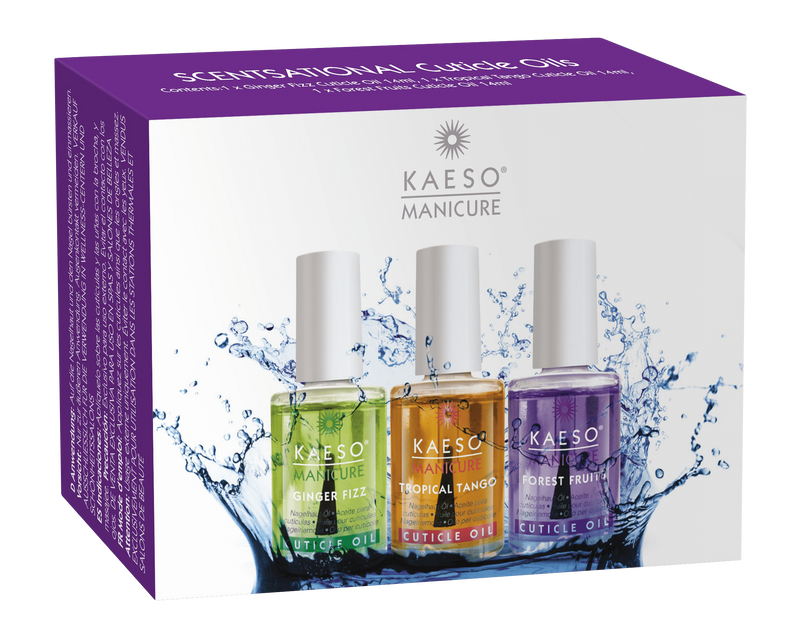 Just Care Beauty Products Kaeso Scentsational Cuticle Oils 3 X 14ml