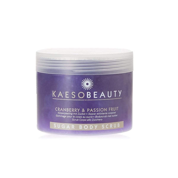 Kaeso Products Cranberry and Passion Fruit Kaeso Sugar Body Scrubs 450ml