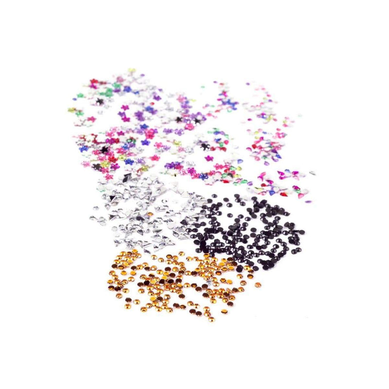 Just Care Beauty On Sale Mad Rhinestones Mixed Colour 240 Piece