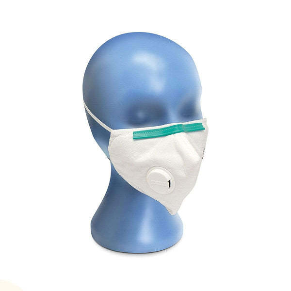 Just Care Beauty Products Protex Respirator S3V Valved Face Mask Pk/12
