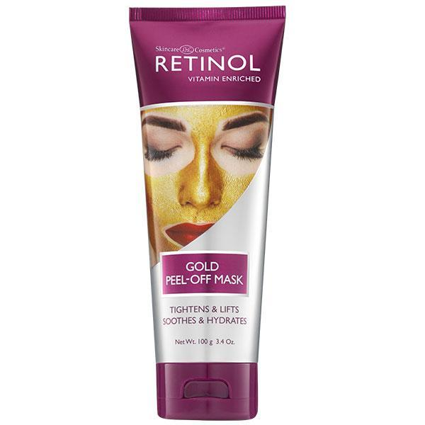 Just Care Beauty Products Retinol Gold Peel Off Mask 100gm