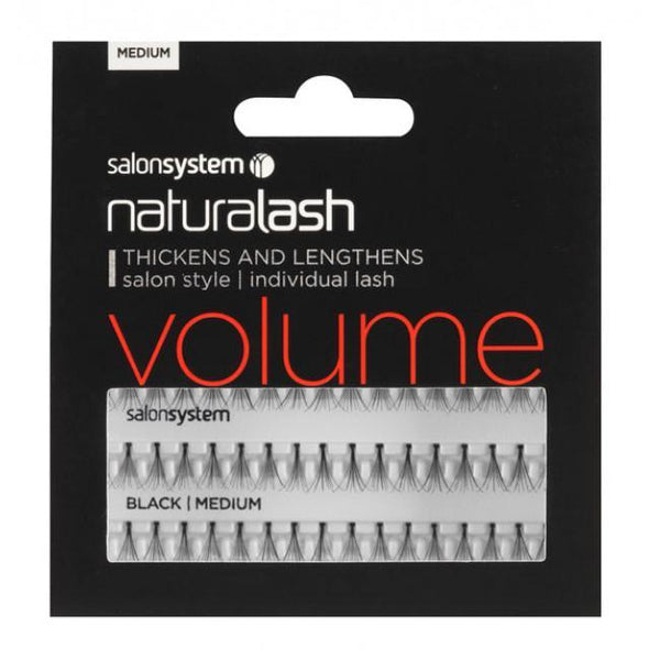 Just Care Beauty Products Mini Black Salonsystem Individual Volume Lashes Flare Black