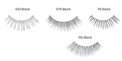Just Care Beauty Products 020 Black Salonsystem NaturaLash Natural Strip Lashes
