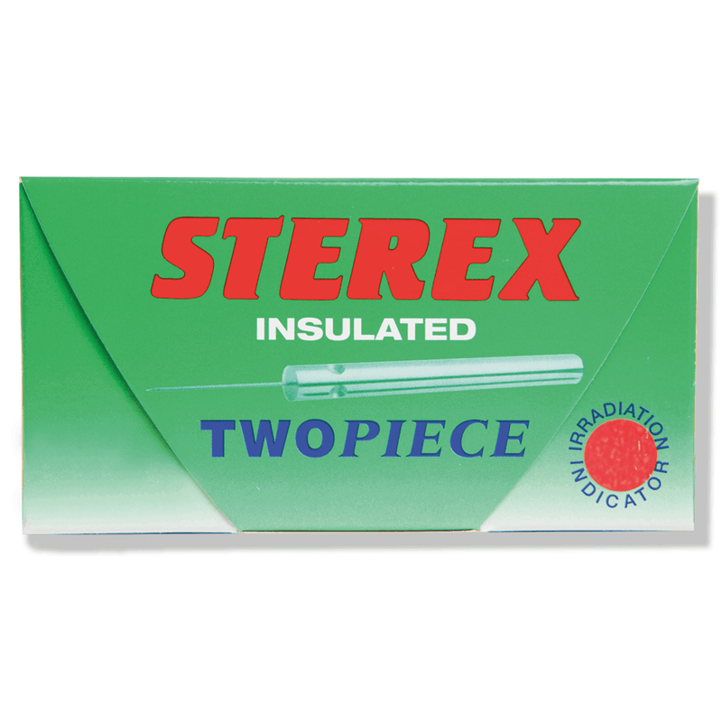 Just Care Beauty Products F2 Sterex Two Piece Insulated Needles Short Pk/50