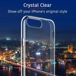 Transparent Luxury Case For iPhone 6 6s 6sPLUS 7 7PLUS X XR XS XSMAX 8 8PLUS 11 11 PRO 11 PRO MAX +