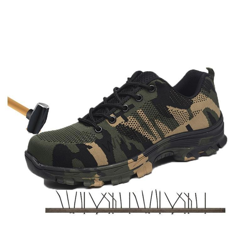 Steel Toe Work & Safety Boots Shoes - Puncture Proof