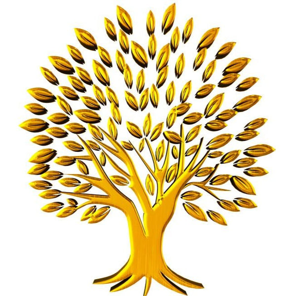 Yellow-Golden Family Tree from Archangel Jophiel™