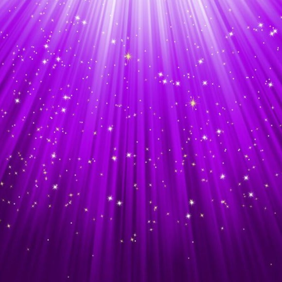 Archangel Zadkiel's Purple Sparkles™ - Protection & Inspiration