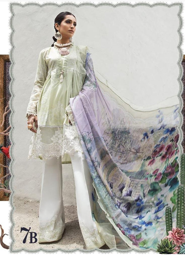 Green Lawn Salwar Kameez-Suit- Maria B. - Trendz & Traditionz Boutique