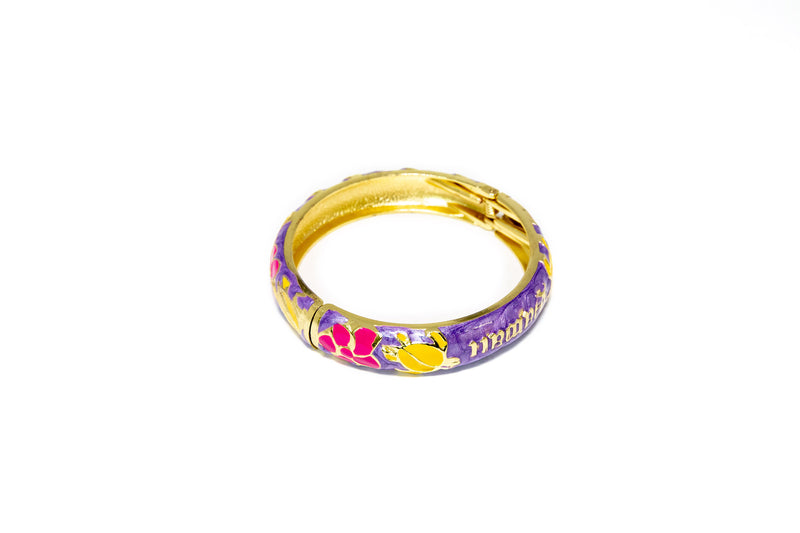 Bass Multi Colored Bangle - Bracelet - Ethnic Jewelry