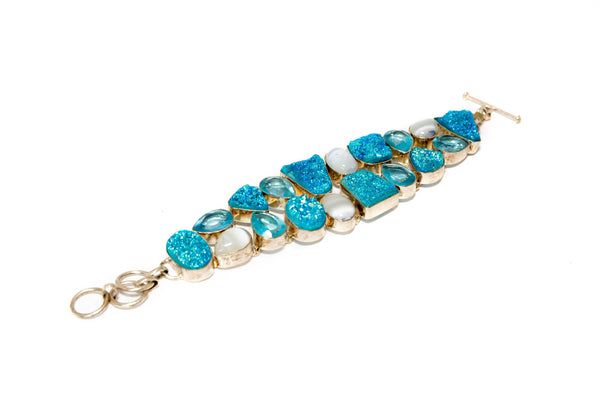Blue Bracelet - South Asian Fashion & Unique Home Decor