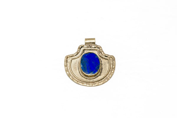 Blue Pendant - South Asian Fashion & Unique Home Decor